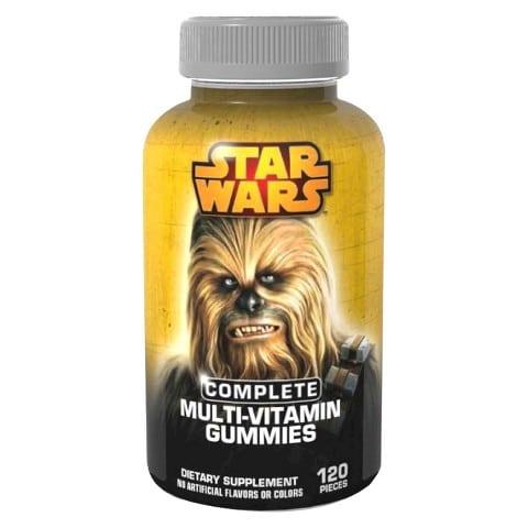 Chewbacca multi-vitamin gummies